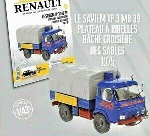 Truck Saviem TP 3 MB 39   1975  1:43 New & Box diecast model