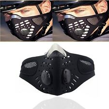 Motorcycle Bicycle Bike Mouth Muffle Black Half Face Mask Filter Anti Dust OK
