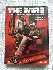 THE WIRE- COMPLETE SEASON 4 – DVD, 4-DISC BOX SET, REGION-1, NEW, FREE SHIPPING