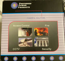 Preferred Power Product 16 Camera 10 Amp CCTV Power Supply P3DC12-16-10