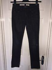 Bottines femme Wrangler cigarette skinny jeans bleu indigo en jean effet vieilli Sz 10 W28