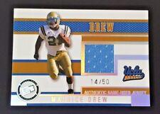 2006 PRESS PASS MAURICE JONES DREW RC JERSEY RELIC SP #/50 UCLA BRUINS RARE