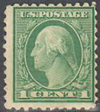 Sc#462 - 1916-17 1c George Washington Mnh (462-2)