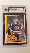 Wayne Gretzky 1980-81 Topps Unscratched All Stars 2nd year card KSA Graded 8.5!!