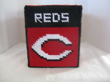 Sports Tissue Box Cover ~ Handcrafted ~ **Gift Idea ~ Reds