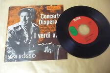 """NINI ROSSO""""CONCERTO DISPERATO-DISCO ITALIA It 1967"""" OST"""