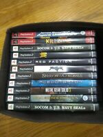 PS2 Games, lot of 11.  Less than $6 per game.