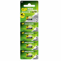 5 x GP 11A MN11 6V Alkaline Batteries A11 GP11A L1016 CX21A E11A Security Alarms