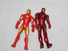 lot of 2 Ironman  4in action figures