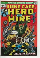 Power Man #6 F/VF (7.0) Assassin in Armor! Luke Cage Hero for Hire Marvel Comics