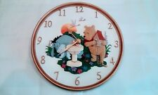 Disney - Winnie The Pooh - Wall Clock - Porcelain China