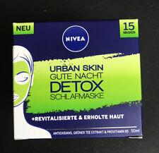 Nivea Urban Skin Gute Nacht Detox Schlafmaske 50ml