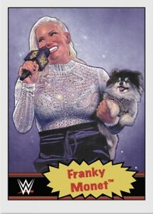 TOPPS WWE LIVING SET CARD FRANKY MONET #68 ONLINE EXCLUSIVE LIMITED EDITION