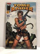 Laura Croft as TOMB RAIDER #1 (1999, Top Cow) Ferdy Park Cover NM UNREAD!