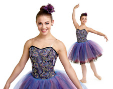 Adult 2XL STORMY Ballet Tutu Dance Costume Dress Romantic
