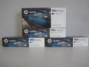 Original HP 981Y Set für PageWide Enterprise Color 550 / 580 Series Neu & OVP