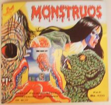 RARE Album Monsters /Spirits/Horror/Extraterrestrial 212 Cards Text in Spanish 5