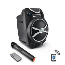 Pyle PWMAB210BK 300W Bluetooth Portable Speaker & Recorder w/ Wireless Mic