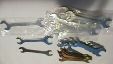 Lot of 21  Light Duty Thin  Open-End Wrenches