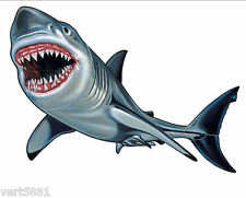 Jaws Great White Shark Mosaic Swimming Pool  tile Wall Decoration Art Patio Bath