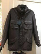 "ERMENEGILDO ZEGNA  SIZE 54 XXL mens jacket - MAC overcoat / italy made NEW 24"" P"