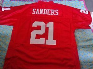 2XL Sewn Deion Sanders san Francisco 49ers jersey Brand New MAKE OFFER