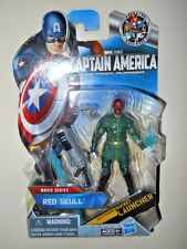 RED SKULL ( VARIANT ) ACTION FIGURE #08 ( WHITE HANDS, GREEN SUIT, GOLD BUCKLE )