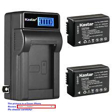 Kastar Battery LCD Wall Charger for Panasonic DMW-BMB9 & Panasonic Lumix DC-FZ80