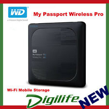 "WD 3TB My Passport Wireless Pro 2.5"" Portable Hard Drive USB 3.0"