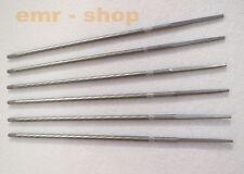 3 x 0.5cm 4.8mm Rund Stahl Kettensäge Kette Feile Ablage Schärfer für Holza