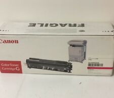 Canon Color TONER CARTRIDGE G № 1513a003 MAGENTA f42-3621-010 per CP 660 ecc.