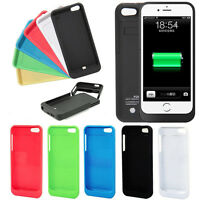New 2200mAh Power Bank External Backup Battery Charger Case for iPhone 5 5C 5S