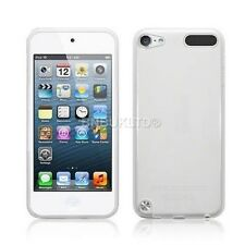 Clear Silicone Gel Case & Screen Guard For iPod Touch 5 5G 5th Generation Gen