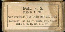 WWII:Patronenschachtel:8 x 57 s.S.P 25 9.L.37