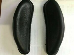 Kent and Masters Leather Knee blocks for GP and Cob Saddles (Pair) Bk or Brown