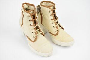 RRP €139 DIESEL DRAGON 94 Women EUR 39 High Heel Trendy Fashion Sneakers 17110_