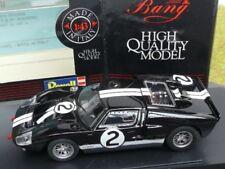 1/43 Bang Ford MK II Le Mans 66 schwarz #2 7081