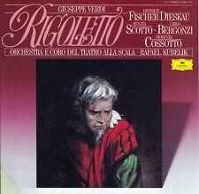 VERDI Rigoletto BERGONZI FISCHER-DIESKAU SCOTTO DGG 413294 3LP Box LowSHIP WWIDE