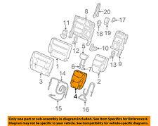 Front Right Honda Genuine 81131-S0X-A03ZA Seat Cushion Trim Cover