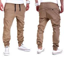 Mens Sport Trousers Sweat Pants Jogging Joggers Tracksuit Hiphop Casual Bottoms