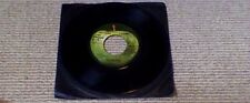 "THE BEATLES The Long and Winding Road 1st US Dark Green Apple 45 7"" 1970"