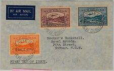 NEW GUINEA -  POSTAL HISTORY - FDC OVER : SG 212 + 214 + 216 - 1939