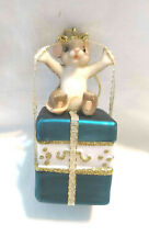 Charming Tails You're the Perfect Gift Glass Ornament (Mouse) [Retired]
