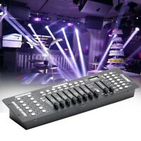 192 Channels DMX512 Controller Console Stage Lighting Controller for Party Disco