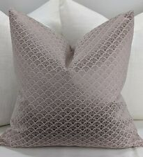 John Lewis Kensington in Soft Pink Fabric Cushion Cover Handmade Double Sided