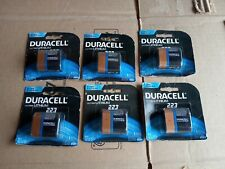 Duracell Ultra Lithium 223 Batteries 6V CRP2 DL223 EL223 Exp 2024  LOT OF 6
