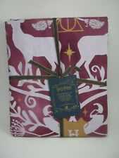Pottery Barn Teen Harry Potter Patronus Damask Duvet Cover King #1989