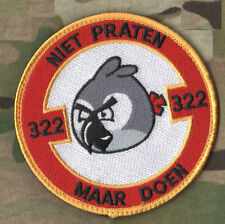 RNLAF F16A J-229 Royal Netherlands Air Force: NIET PRATEN MAAR DOEN Do Not Talk