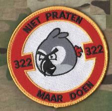 NATO TIGER MEET NTM COLLECTIONS: KANDAHAR WHACKER BELGIAN AIR FORCE 322 SQN