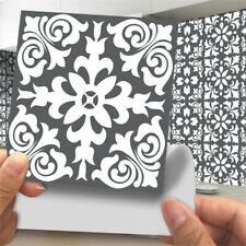 24Pcs Moroccan Style Tile Wall Sticker Mosaic DIY Self-Adhesive Bathroom Kitchen
